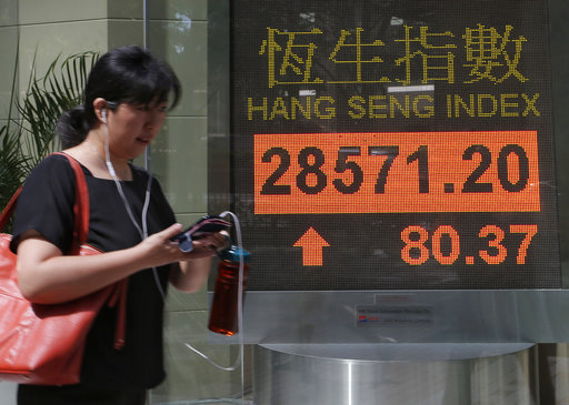 Asian shares rise after Dow index in US hits new record ...