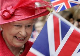 Britain Queens Jubilee-Queen