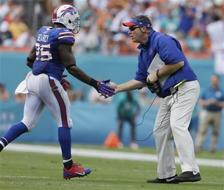 Doug Marrone, Da'Norris Searcy