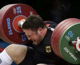 APTOPIX London Olympics Weightlifting Men