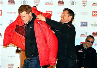 Britain Prince Harry Walking With The Wounded