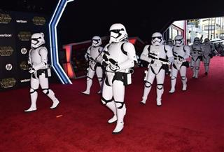 """World Premiere of """"Star Wars: The Force Awakens"""" - Arrivals"""