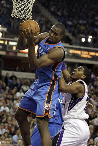 Sege Ibaka, Jason Thompson