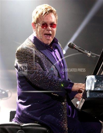 inVision Owen Sweeney/Invision/AP A ENT PA USA INVW Elton John In Concert - Reading, Pa