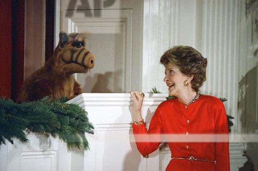 Watchf Associated Press Domestic News  Dist. of Col United States APHS174527 Nancy Reagan