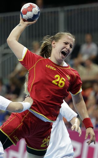 London Olympics Handball Women