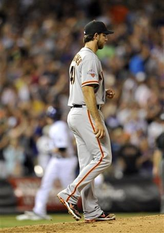 Jordan Pacheco, Madison Bumgarner