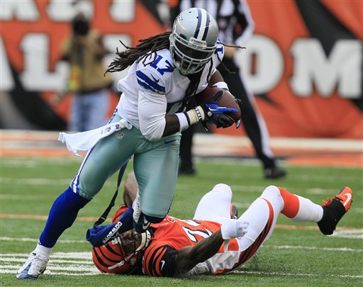 Dwayne Harris, Adam Jones