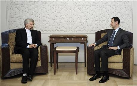 Saeed Jalili, Bashar Assad