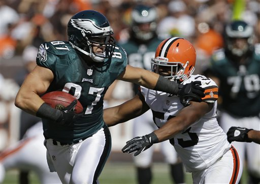 Brent Celek, Craig Robertson