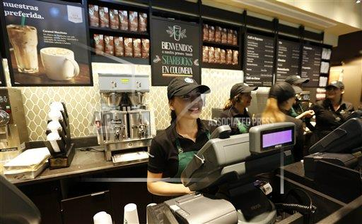 Colombia Starbucks Opening