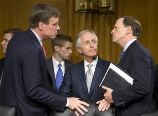 Mark Warner, Bob Corker, Pat Toomey