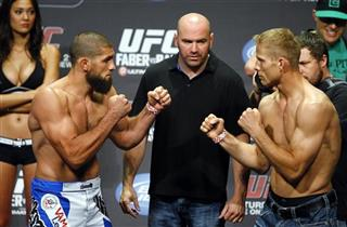Nick Ring, Court McGee, Dana White
