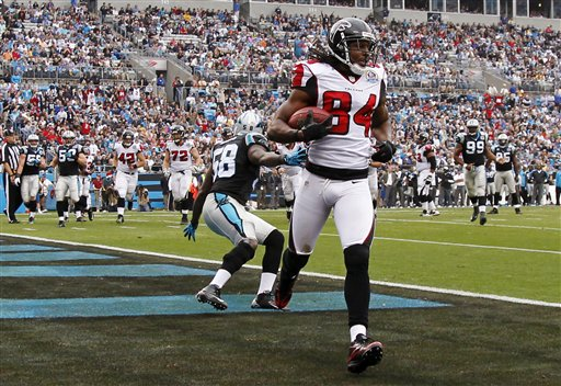 Roddy White, Thomas Davis