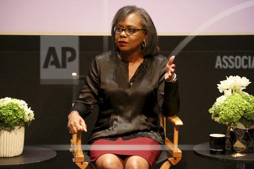 Anita Hill and Fatima Goss Graves Discussion on Harassment