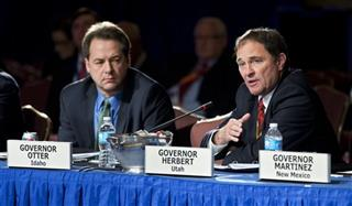 Gary Herbert, Steve Bullock