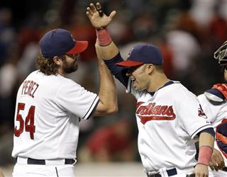 Chris Perez, Nick Swisher