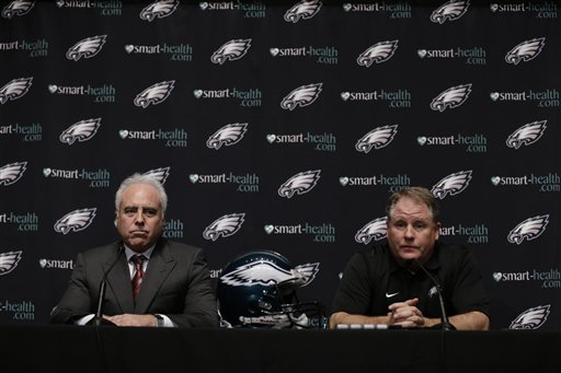 Chip Kelly,  Jeffrey Lurie