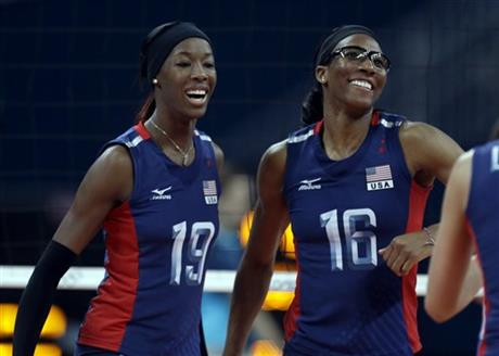 Destinee Hooker, Foluke Akinradewo