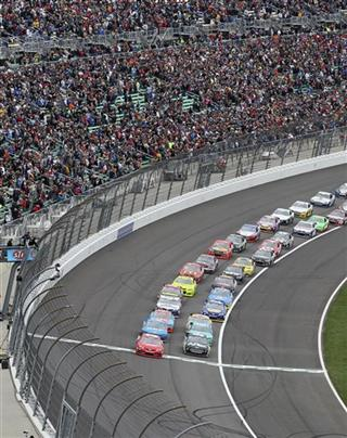 NASCAR Kansas Auto Racing