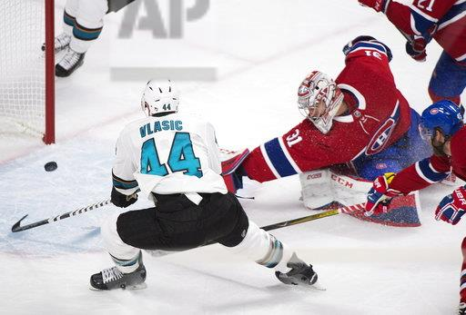 Sharks Canadiens Hockey