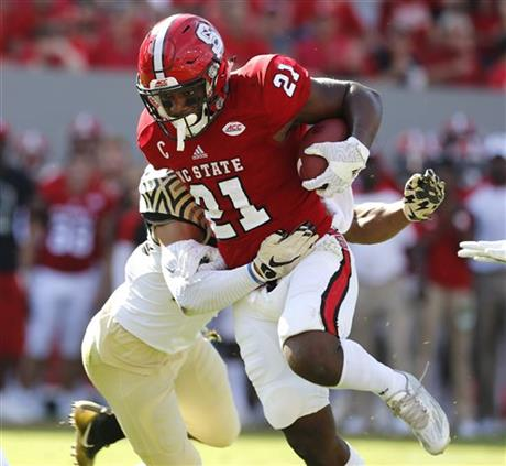 nc college football scores wednesday football