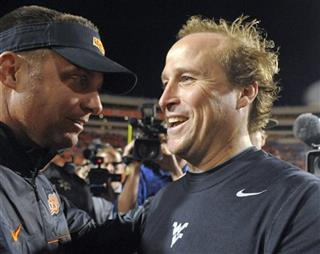 Mike Gundy, Dana Holgorsen