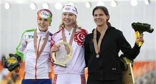 Olga Fatkulina,Ireen Wust,Brittany Bowe