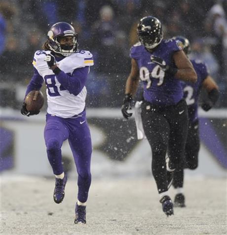 Cordarrelle Patterson, Chris Canty