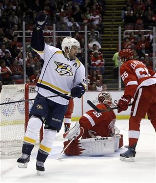 Mike Fisher, Jimmy Howard
