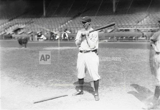 Watchf Associated Press Sports Professional Baseball (American League)   APHS232222 Yankees Joe Dugan 1922