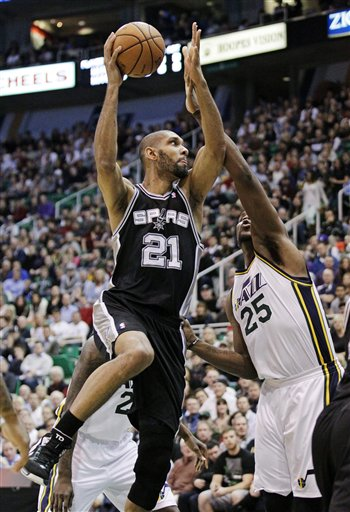 Tim Duncan, Al Jefferson