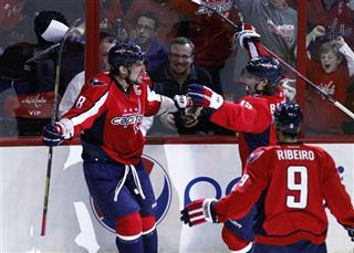 Alex Ovechkin, Nicklas Backstrom, Mike Ribeiro