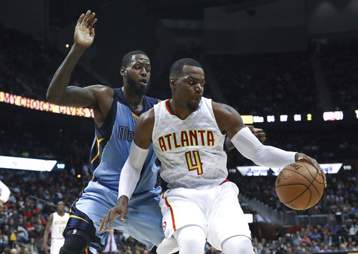 Millsap, Bazemore to miss time for Hawks with knee injuries