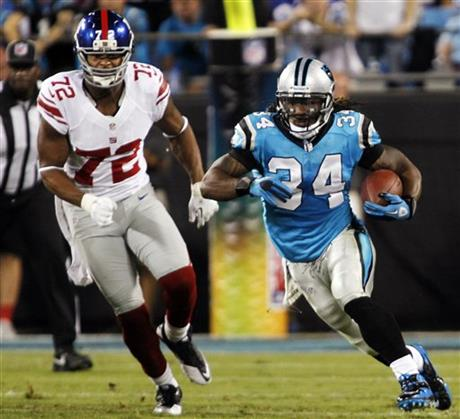 DeAngelo Williams,  Osi Umenyiora