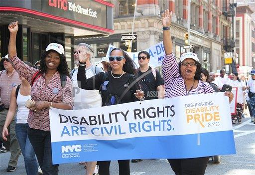 PGroup Rainmaker Photo/MediaPunch/MediaPunch/IPx A ENT   IPX 2017 Disablity Pride Parade NYC