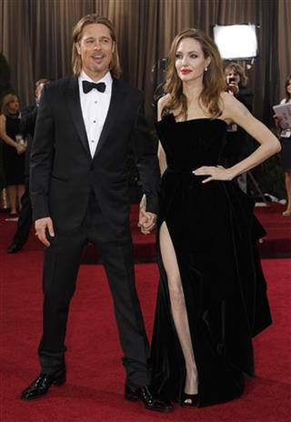 Angelina Jolie. Brad Pitt