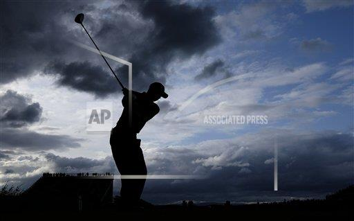 APTOPIX Britain Open Golf