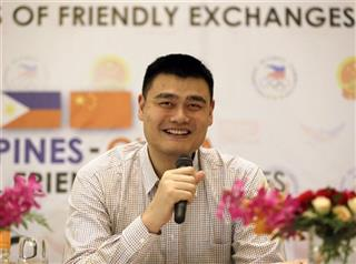 Philippines China Yao Ming