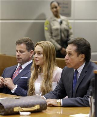 Lindsay Lohan, Mark Heller, Anthony Falangetti