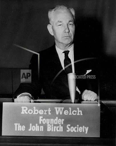 Associated Press Domestic News United States ROBERT WELCH