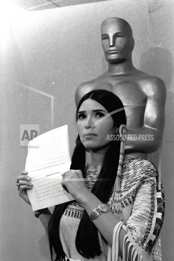 Associated Press Domestic News California United States ACADEMY AWARDS BRANDO
