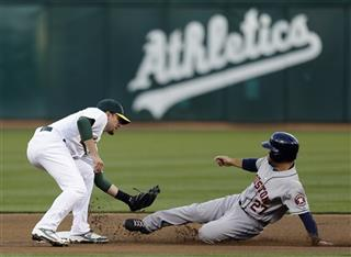 Jed Lowrie, Jose Altuve