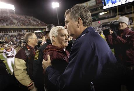 Frank Beamer, Paul Johnson