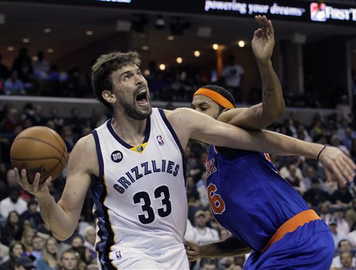 Marc Gasol, Rasheed Wallace