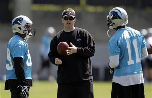 Rob Chudzinski, Steve Smith, Brandon LaFell