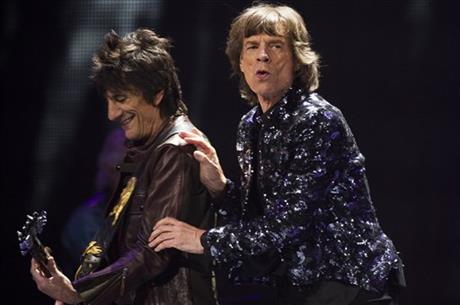 Ronnie Woods, Mick Jagger, Keith Richards