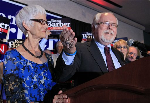 Ron Barber, Nancy Barber, Gabrielle Giffords, Mark Kelly