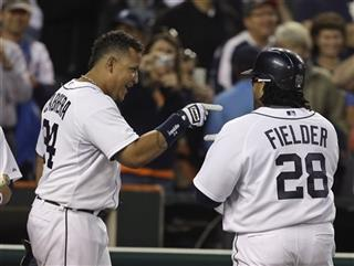 Prince Fielder, Miguel Cabrera