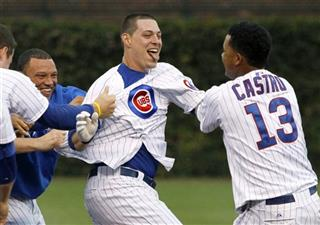 Bryan LaHair, Starlin Castro